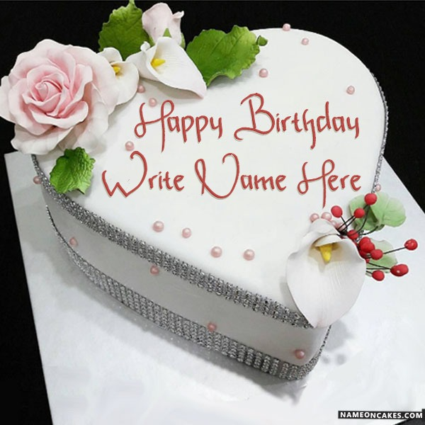 Pleasing Birthday Cake For Lover With Name Funny Birthday Cards Online Bapapcheapnameinfo