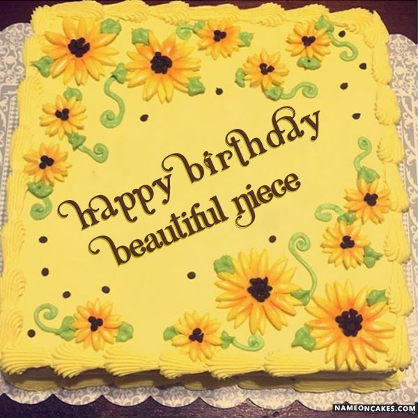 Happy Birthday Beautiful Niece Cake Images